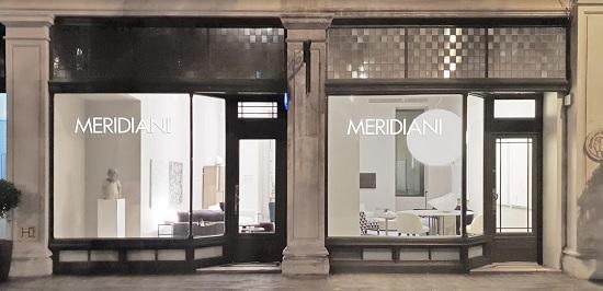 Meridiani, a Londra lo showroom internazionale