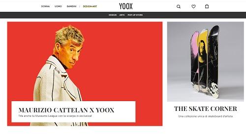 Yoox lancia la sezione Design+Art