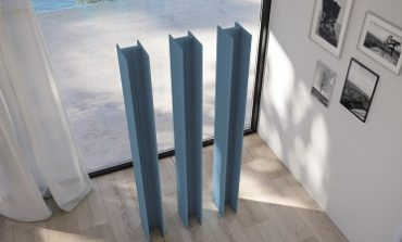 T Tower, radiatore free-standing by Antrax It
