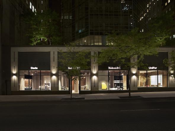 Il Gruppo Molteni lancia a Manhattan il Flagship-Galleria d'Arte