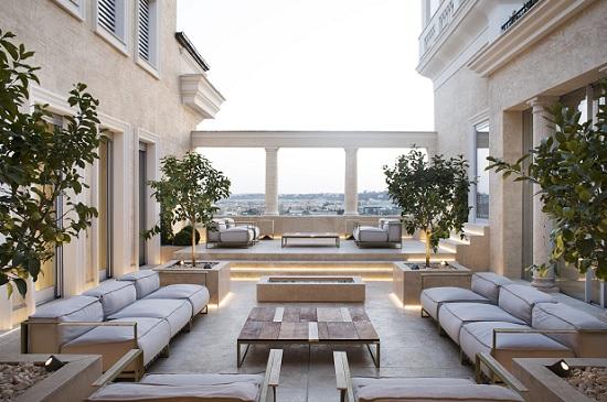 Talenti arreda la terrazza di Villa sul Palazzo