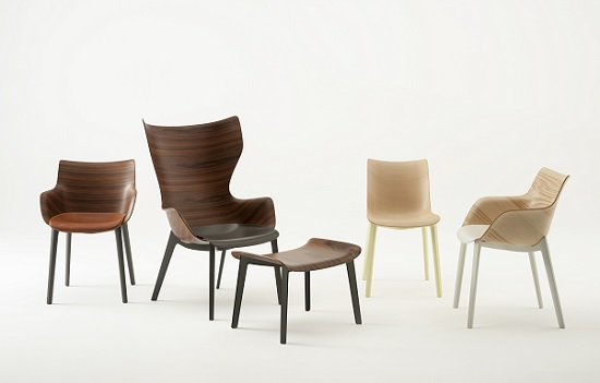 Kartell con Starck per la nuova Woody Collection