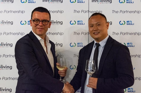 Innoliving sigla partnership con Weili