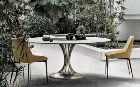 Bavuso firma due tavoli-scultura per Alivar