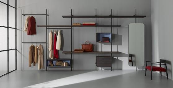 Cabina Armadio Con Pali : Porro nella cabina armadio con boutique mast u pambianco design