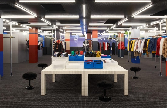 Per Excelsior Milano restyle by Dimorestudio