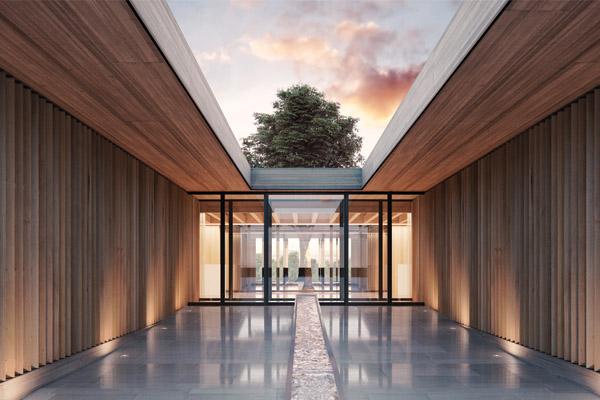 Casa con spa orientale
