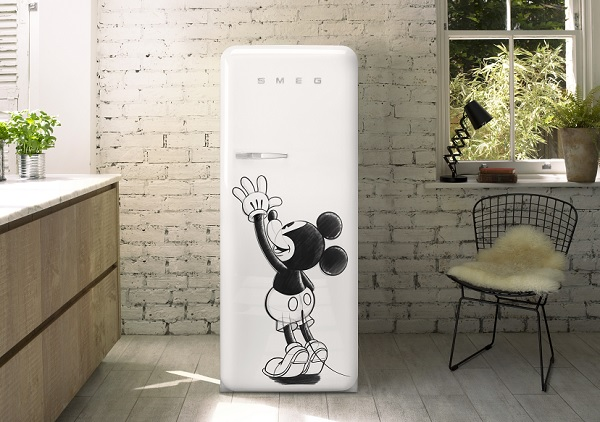 Smeg con Disney, frigoriferi Fab in limited edition
