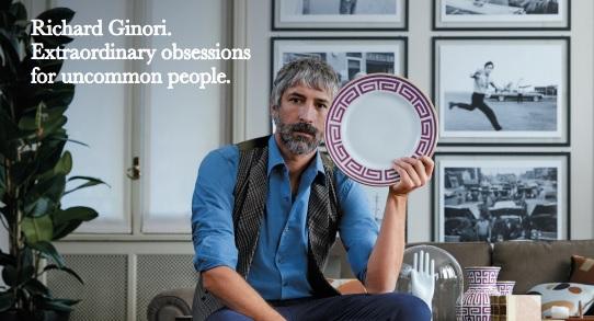 Richard Ginori, on air con 'Beautiful Obsessions'