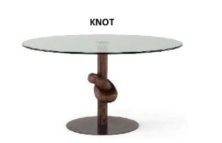 Knot, il tavolo scultura di Amura