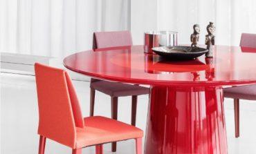 Roundel il tavolo da pranzo secondo Baleri Italia
