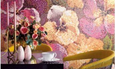 Bisazza nel 2019 tra fiori e Swarovski