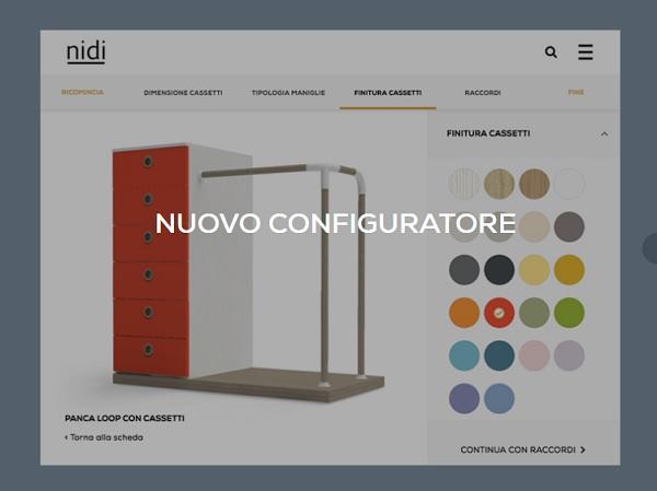 È online il nuovo configuratore di Nidi