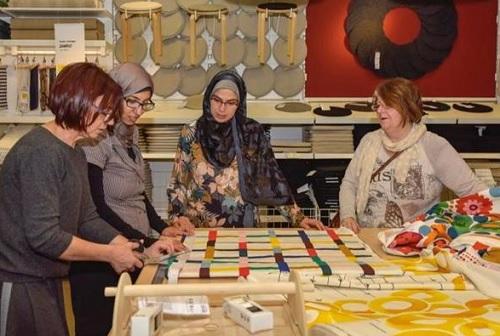 Ikea fa spazio alla sartoria sociale