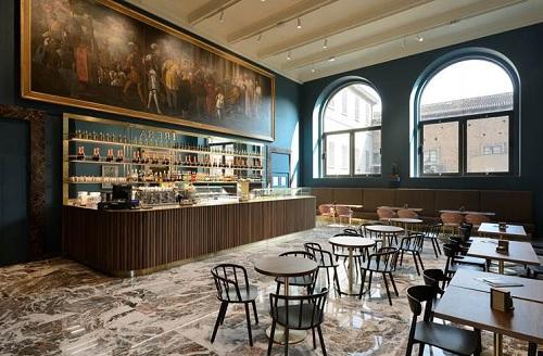 Pedrali arreda il Caffè della Pinacoteca di Brera