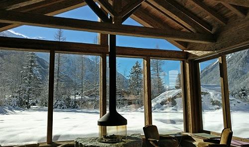 Duravit in chalet sul Monte Bianco