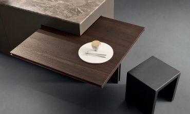 Ernestomeda introduce tavoli 'dinamici' nelle cucine
