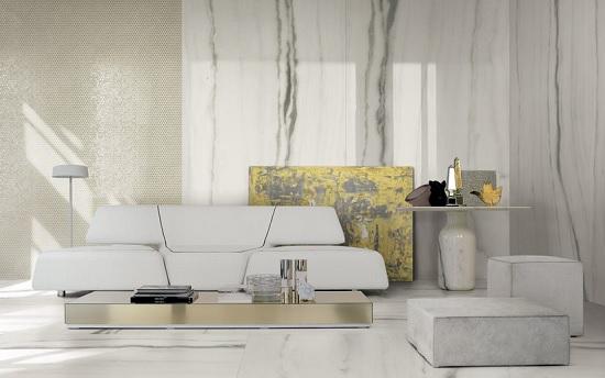 Florim valorizza l'estetica del marmo con Prexious of Rex