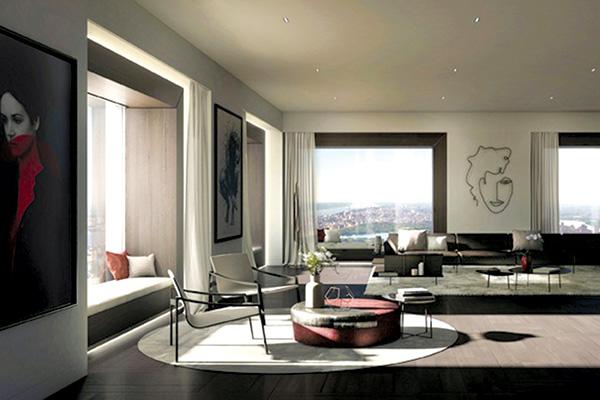 Nunziati sceglie Molteni&C per una penthouse a New York