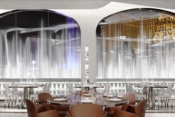 Pedrali arreda il ristorante Lago del Bellagio di Las Vegas