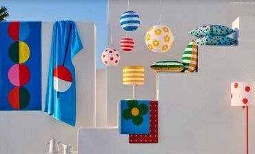 Stampe colorate per l'estate Ikea