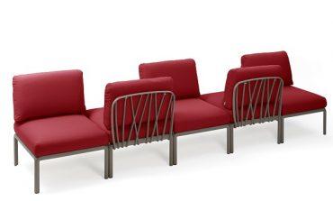 Komodo, sedute modulari per l'outdoor by Nardi