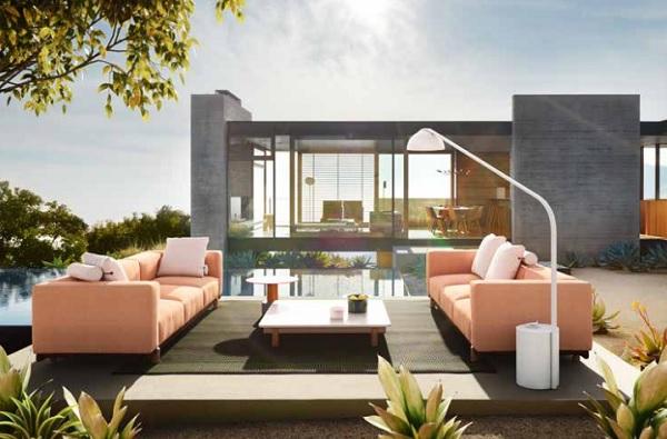 Il divano componibile con molo by dordoni pambianco design for Divano in spagnolo