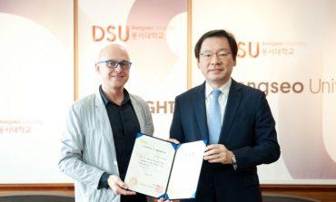 Ico Migliore nominato Chair Professor alla Dongseo University di Busan
