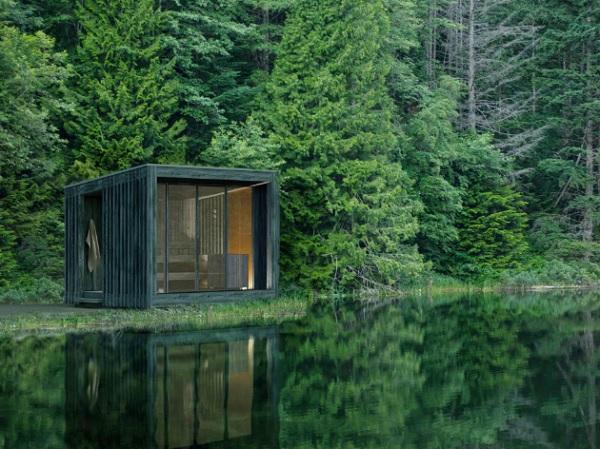 Da Starpool una sauna che interagisce con la natura