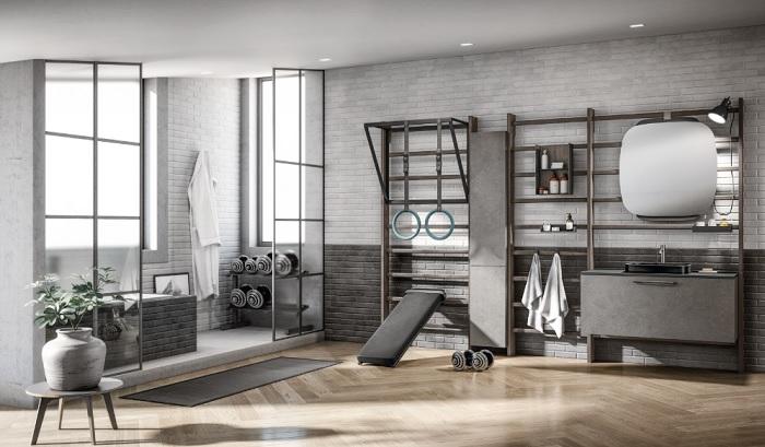 Gym Space, il concept del wellness di Scavolini Bagno