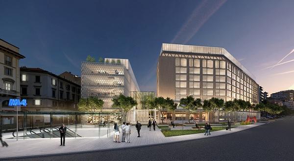Allianz riqualifica Corso Italia 23, sarà un campus urbano