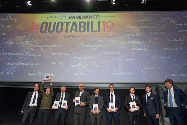 "Minotti, Laminam e Pedrali tra i premiati a ""leQuotabili19"""