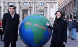 A Milano 100 globi per la sostenibilità