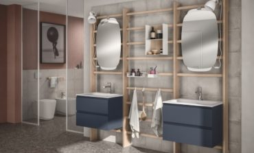 Gym Space di Scavolini Bagno in blue