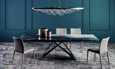 Cattelan Italia firma il tavolo Premier Crystalart Drive