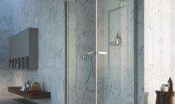 Inda, pareti doccia personalizzabili con Praia