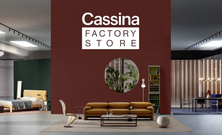 Cassina Factory Store apre a Lentate sul Seveso