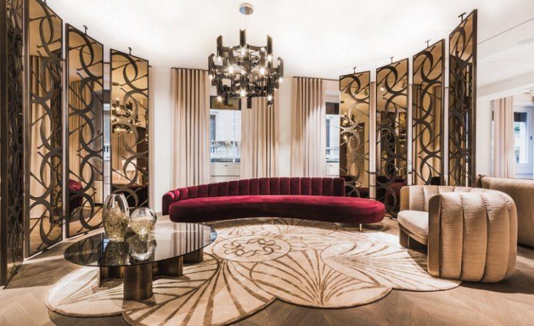 Primo showroom a Milano per Elie Saab Maison
