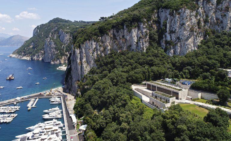 Completata la stazione elettrica a Capri
