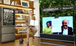 Al via la collaborazione tra Molteni&C e LG
