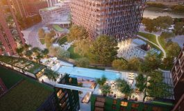 Completata Skypool, 1° piscina sospesa al mondo