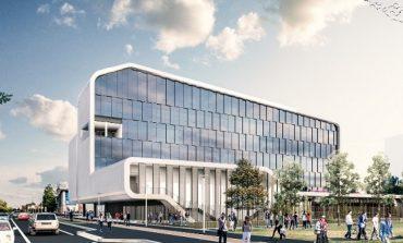Symbiosis, un edificio fluido e multi-livello per la scuola di design