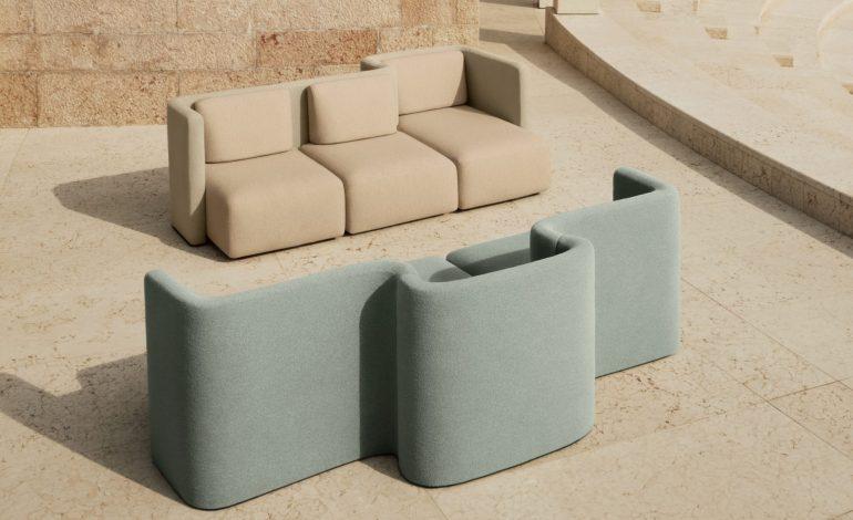 'Gala', il divano retro-future di Cristina Celestino per Saba