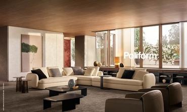 Poliform, nella nuova campagna una casa 'modernista'