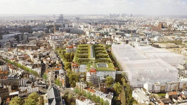 Renzo Piano firma il campus Saint-Ouen a Parigi