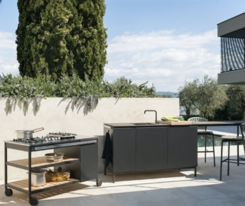 Norma, l'outdoor kitchen di Roda