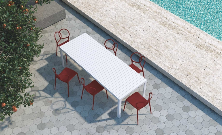 Kalimba, il nuovo tavolo by DriadeLab