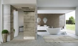 Duka, le cabine doccia che 'illuminano' lo spazio bagno