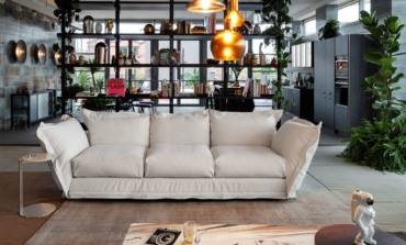 Il divano modulare di Diesel Living with Moroso