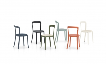 Le sedute riciclabili di Barber & Osgerby per Emeco